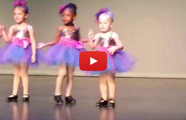 VIDEO: Girl's dance better than routine