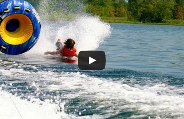 VIDEO: Sumer time water wipeouts!