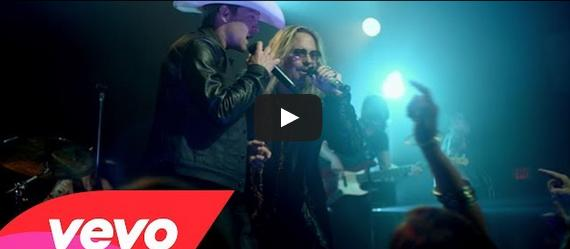 VIDEO: Justin Moore 'Home Sweet Home' Video Featuring Motley Crue