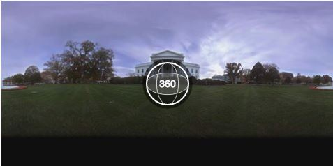 The white house posts 360 degree tour on facebook the for 360 degree house tour