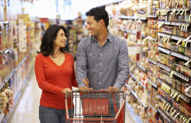 Feel Good Story Couple Uses Supermarket Shopping Spree To